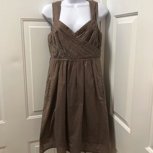 Maeve. By. Anthropology dress brown size 4